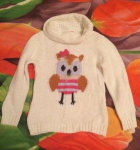 Кофты и свитера на девочку