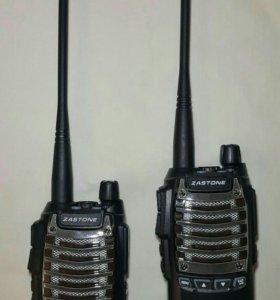 Комплект профессиональных раций Zastone T2000 8W