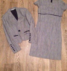 Костюм платье и пиджак