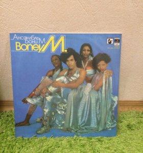 Виниловая пластинка BoneyM 1980г
