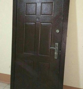 Дверь железная 210*102