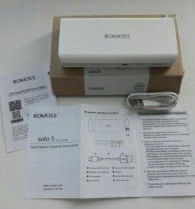 Новый! PowerBank ROMOSS SOLO 5 10000mAh
