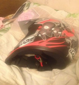 Шлем детский Lazer X5 Skull Junior