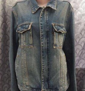 Джинсовая куртка мужская р50-52