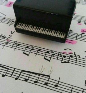 Репетитор музыки,вокала.