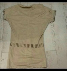 Замшевое платье 44 размер