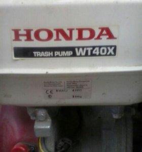 мотопомпа Honda WT40X Trash pomp