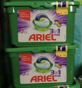 Капсулы для стирки Ariel 12шт