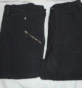 брюки тёплые на флизе