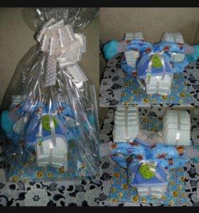 Отличный подарок для новорожденных )))