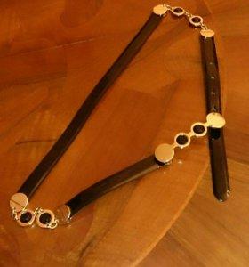 Ремень кожаный Emporio Armani