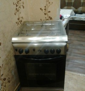 Газовая плита Indesit K3G21(Х)/R