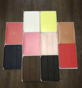 Apple Smart Case на ipad 2017, air 1 2 чехол кожа