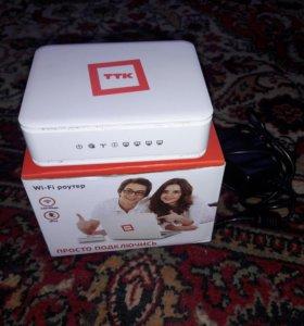 Wi Fi роутер ТТК