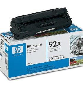Оригинальный б/у картридж HP C4092A(92A/EP22)