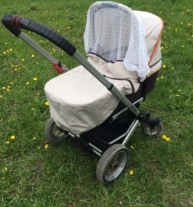Немецкая детская коляска hartan VIP XL (2 в 1)