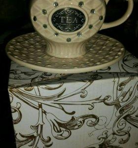 Продам новый чайный сервиз из 4х