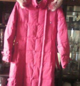 Пальто длинное 44-46 размер