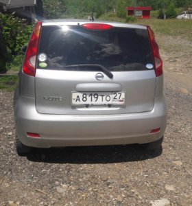 NISSAN NOTE 2007г.