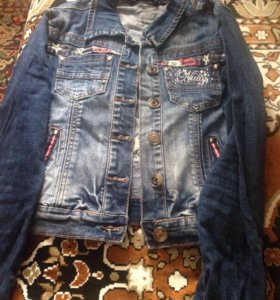 Джинсовую куртку