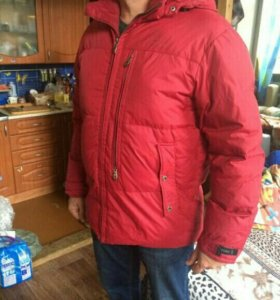 Куртка -пуховик мужская