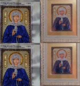 Картины иконы бисером
