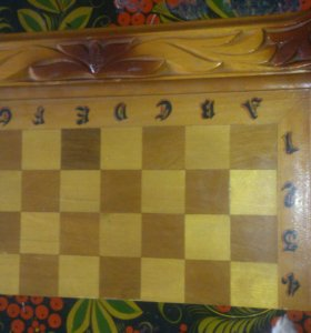 Нарды и шахматы ручной работы