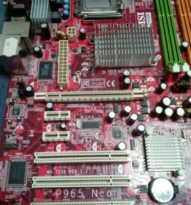 Msi P965+ e2160