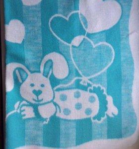 Детское одеяло байковое