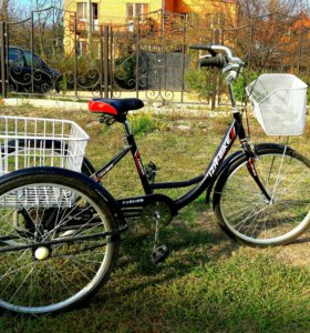 Велосипед трехколесный ИЖ-БАЙК ФЕРМЕР