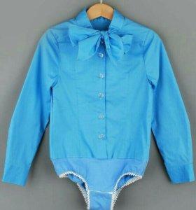 Блузка (школьная) - боди для девочки р.146