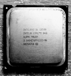 Е8500 процессор