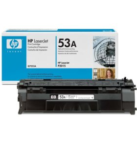 Продам оригинальный картридж HP LaserJet 53A