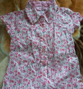 Блуза дев. 116.