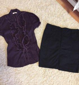 Юбочка и блузка