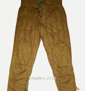 Новые ватные брюки для рыбалки