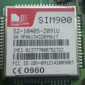 Gsm sim900 модуль