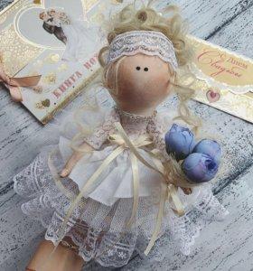 Интерьерная кукла,тильда,кукла ручной работы
