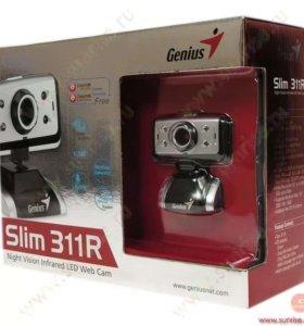 Веб камера genius slim 311 r