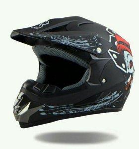 Шлем кроссовый Helmo CR171, новый