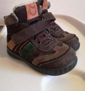 Ботинки демисезонные Котофей 21 размер