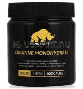 Креатин Prime Kraft Creatine Monohydrate, 200 г