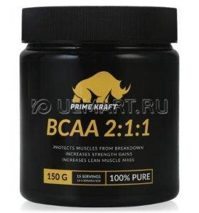 минокислоты Prime Kraft BCAA 2:1:1 (чистый) 150 г