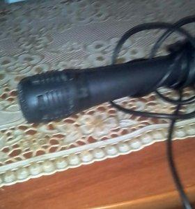 Микрофон с проводом,в рабочем
