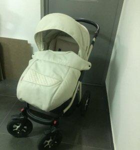 Детская коляска Tutic Maseratti ЭКО кожа 3 в1