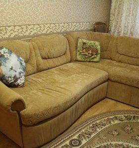 Роскошный диван, угловой