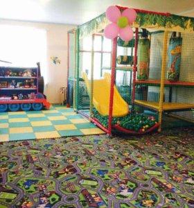 Детский игровой лабиринт.