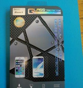 Защитное стекло для айфона 6