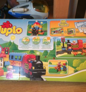 Лего дупло (LEGO Duplo) Мой первый поезд 10507