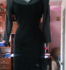 Платье теплое обычное